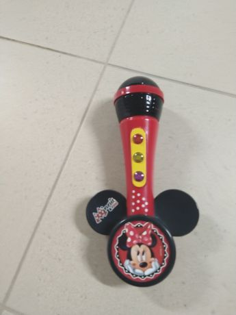 Microfone Minie Mouse
