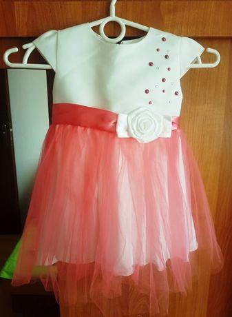 Sukienka rozmiar 86 plus gratis buciki