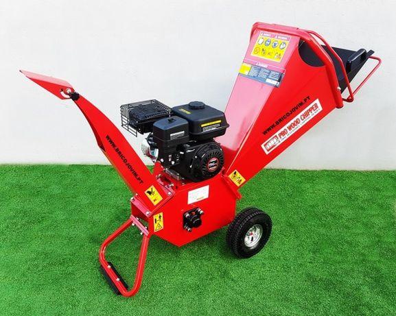 Biotriturador Novos - Motor 6.5 cv Gasolina -Tritura Até 10cm