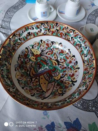 Porcelana de Macau - Taça antiga Macau