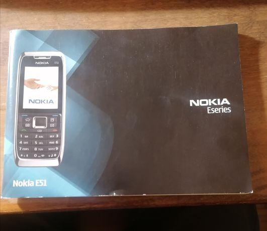 Instrukcja obsługi telefonu Nokia E51 oryginał. Wysyłam też