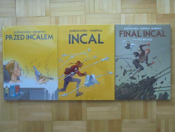 Jodorowsky - Przed Incalem + Incal + Final Incal oraz Po Incalu.