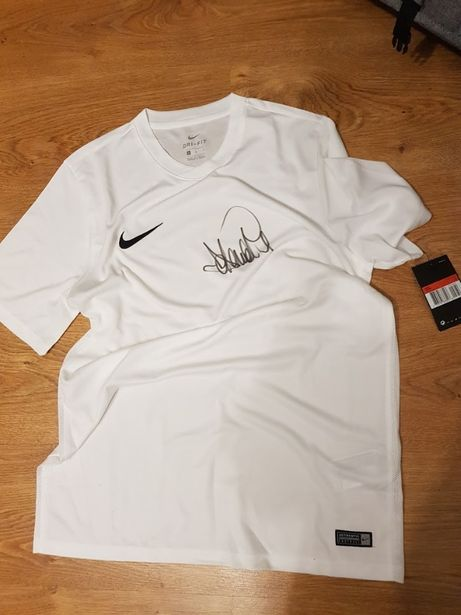 Koszulka Nike z autografem Adama Nawałki