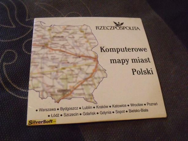 Komputerowe mapy miast Polski