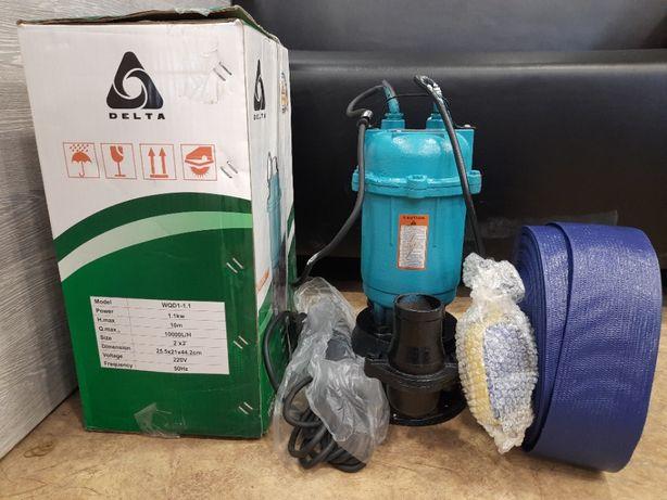 Фекальный насос с измельчителем DELTA 1.1 кВт