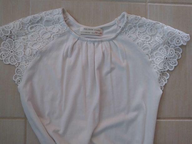 Bluzeczka Zara z ozdobnymi rekawkami