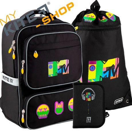Школьный набор KITE 3 в 1 Рюкзак Сумка Пенал Кайт Для мальчика
