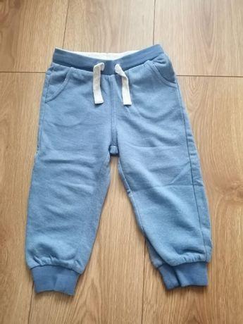 COOL CLUB nowe spodnie dresowe rozm. 86