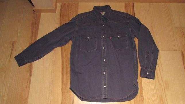 Koszula Levis jeans grafitowa rozmiar S kapsle