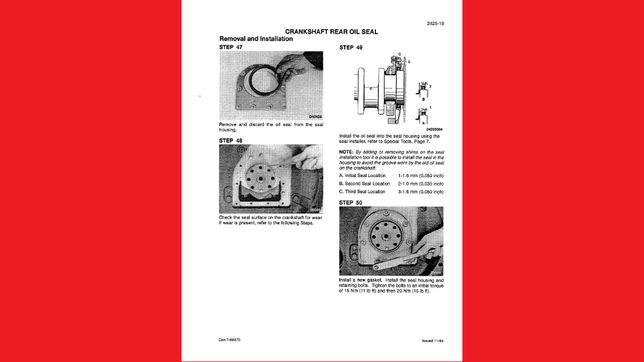 CASE IH 3210, 3220, 3230, 4210, 4220, 4230, 4240 instrukcja NAPRAW