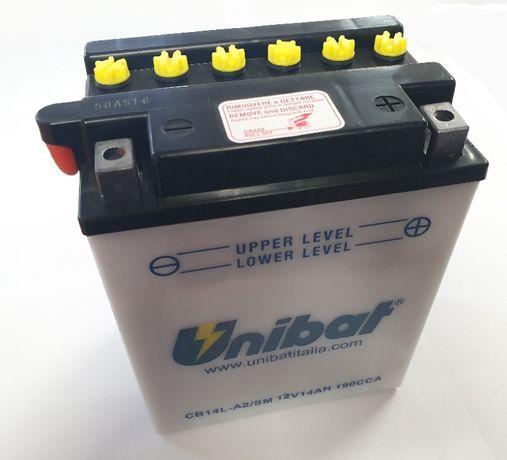 Akumulator Unibat CB14L-A2 YB14L-A2 14Ah 190A 12V NOWY