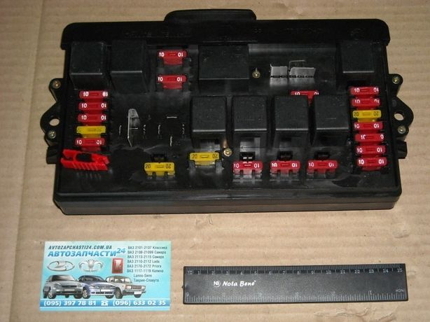 Блок предохранителей на Ваз 2108 2109 21099 Нового Образца