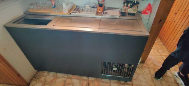 Balcão frigorífico em inox