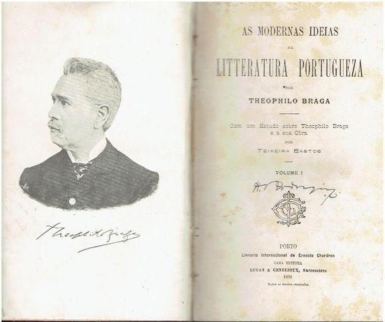 3567 - Livros de Theophilo Braga