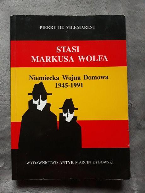 Stasi Markusa Wolfa Niemiecka Wojna Domowa- P. de Vilemarest