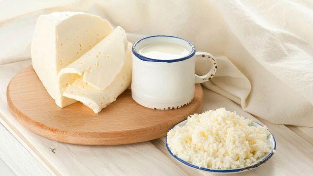 Домашнее молоко, масло, сметана, творог, брынза