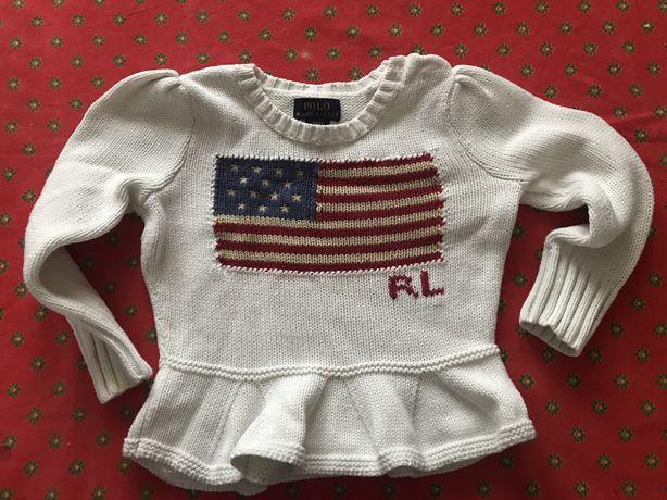 Sweterek Polo Ralph Lauren 92-98