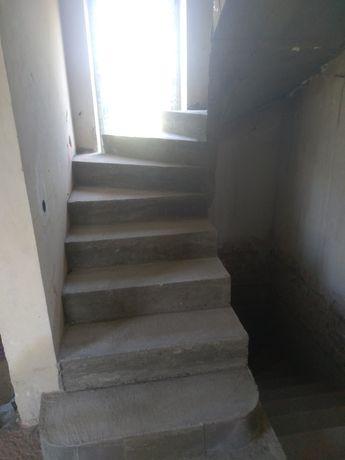 Бетонні сходи, Монолітне перекриття, Фундаментні роботи та ін