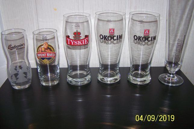 Szklanki do piwa