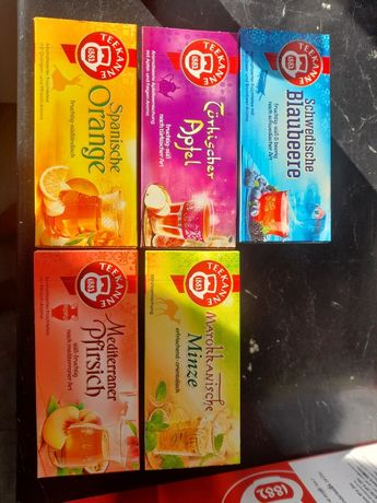 Herbaty Teekane owocowe