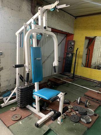 Atlas wielofunkcyjnydo ćwiczeń, brzuch, nogi, plecy, klatka, rozpiętki