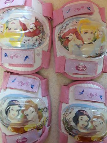 Наколенники и налокоточники для девочки