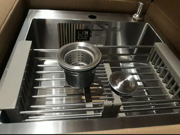 Кухонна мийка Brush товстостінна 3.0 / 1.0 mm