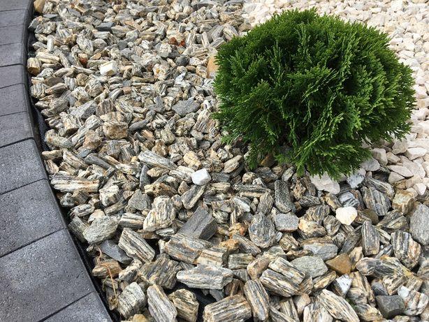 Kora Kamienna łupkowa grys dekoracyjny granitowy