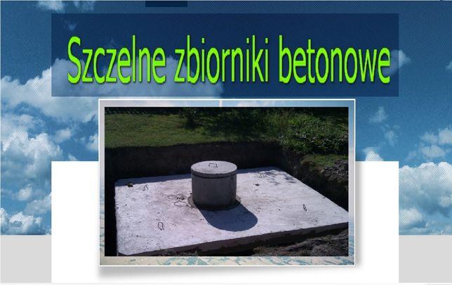 Szambo betonowe 4m3 SZAMBA zbiornik na wodę kanał betonowy, zbiorniki