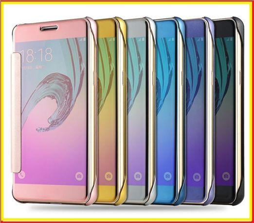 Чехол на Xiaomi Redmi 4X Note 4 5 7 4Х 5A 7A Mi A1 книжка зеркальный