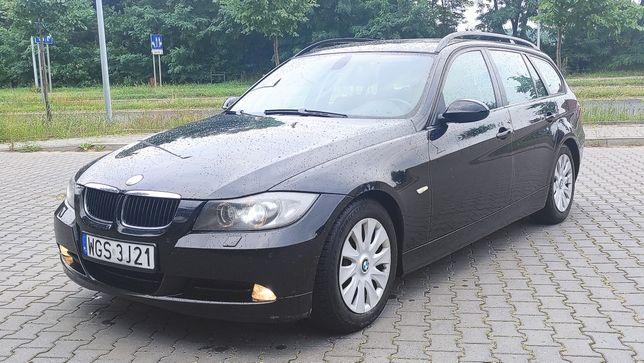BMW 318d  E91 klimatronik 2007r Zamiana