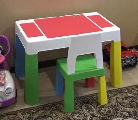 Стол и стульчики Tega Baby Multifun - набор детской мебели из Польши