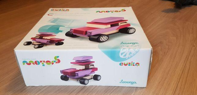 Cubika Деревянная машинка-конструктор с магнитами, детская игрушка