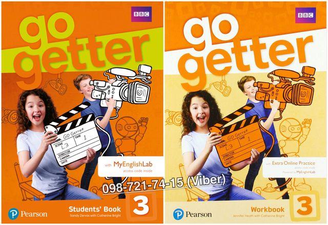Go Getter 3. Student's Book + Workbook (+CD)
