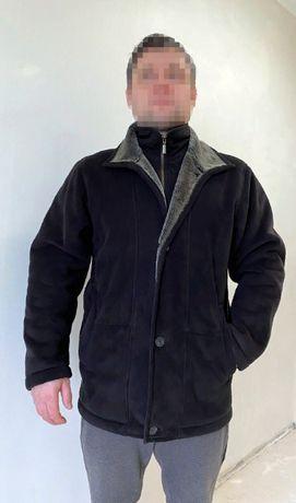 р.М-Л Vinci мужская куртка дублёнка качественная материал акрил
