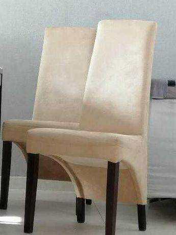 Cadeiras de sala em tecido