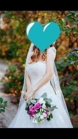 Продам свадебное платье ручной работы