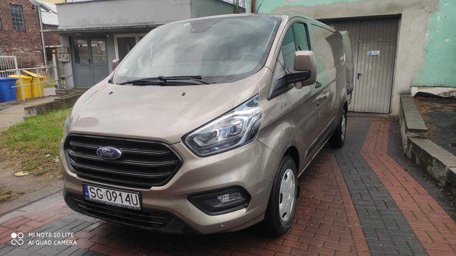 Ford Transit Custom / Pierwszy właściciel / ASO / NETTO / FV 23%