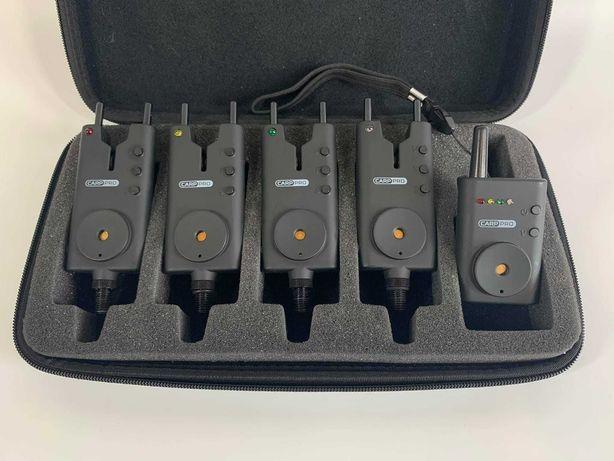Карповые сигнализаторы поклевки Carp Pro VTS Slim 4+1  Карп про