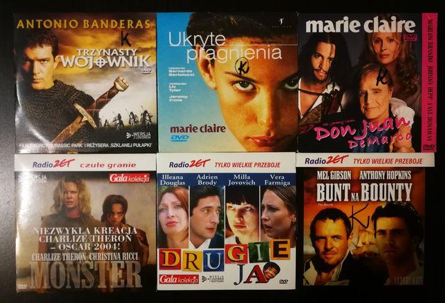 Płyty DVD z filmami 35szt.