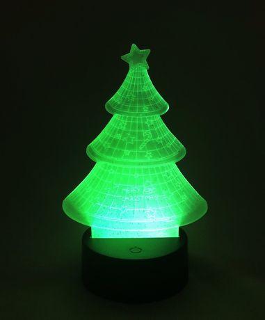 Настольный светильник New Idea 3D Desk Lamp Елка