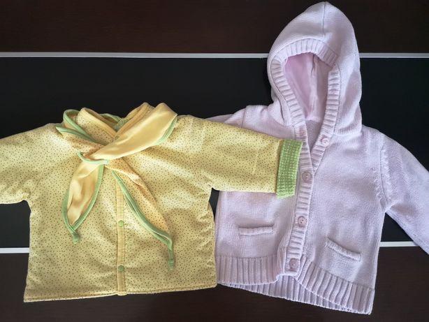 Sweterki dla maluszka 6-9 miesięcy