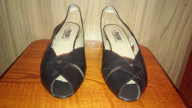 Босоножки женские, туфли, натуральная кожа, размер 40