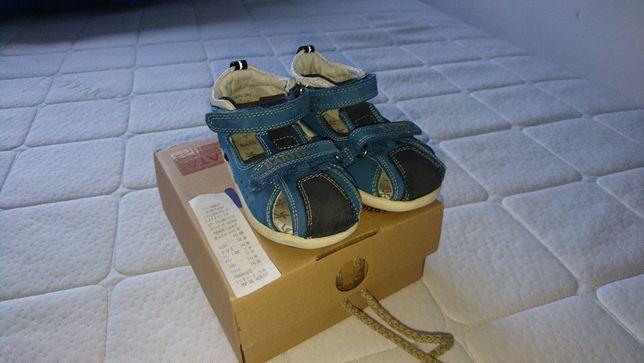 sandały sandałki Bartek r 24 15cm gwarancja skóra