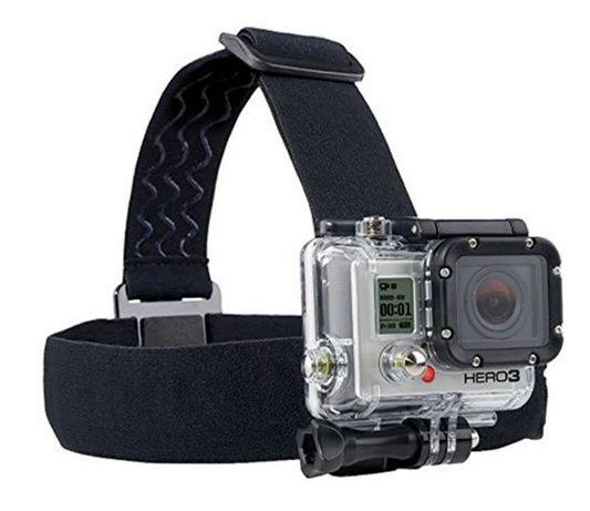 Крепление на голову для экшн-камер GoPro, SJCAM, Xiaomi и др, крепеж