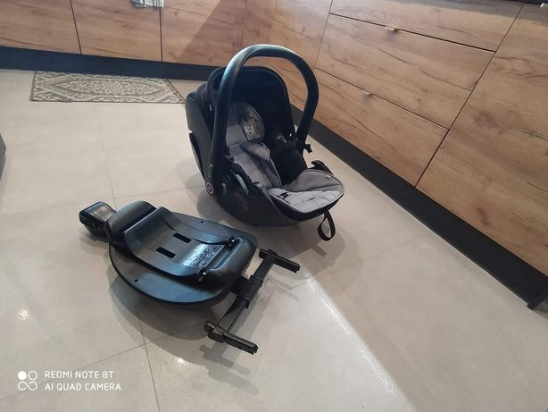 Fotelik Kiddy Pro Evolution 2 + baza + wkładka niemowlęca