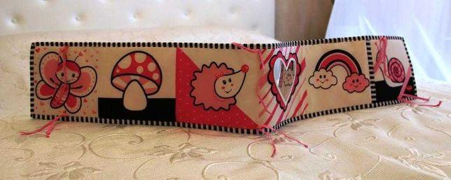 Развивающая книжка-бампер Tiny love