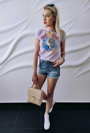 WYPRZEDAŻ Jeansowe szorty, krótkie spodenki