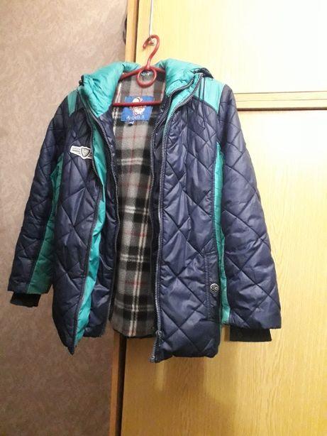 куртка на мальчика осень-зима