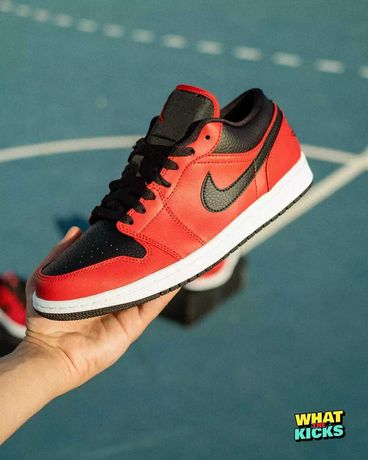 """Air Jordan 1 Low """"Reverse Bred"""" - 41/42,5"""